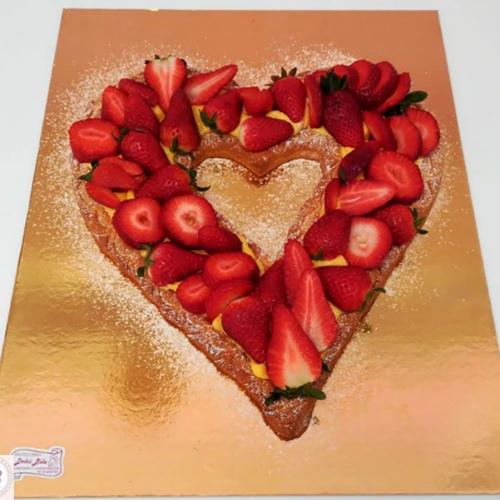 crostatat a forma di cuore