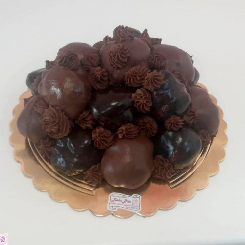 profitterol al cioccolato